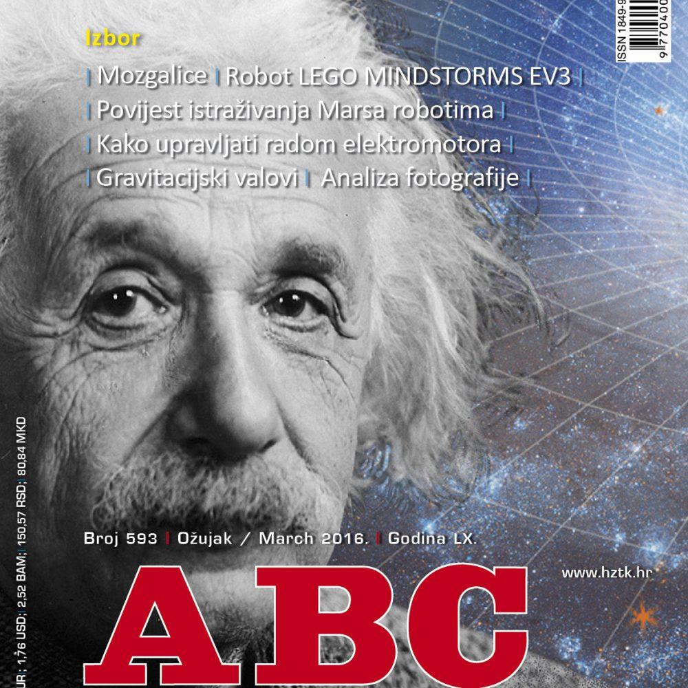 ABC tehnike broj 593, ožujak 2016. godine