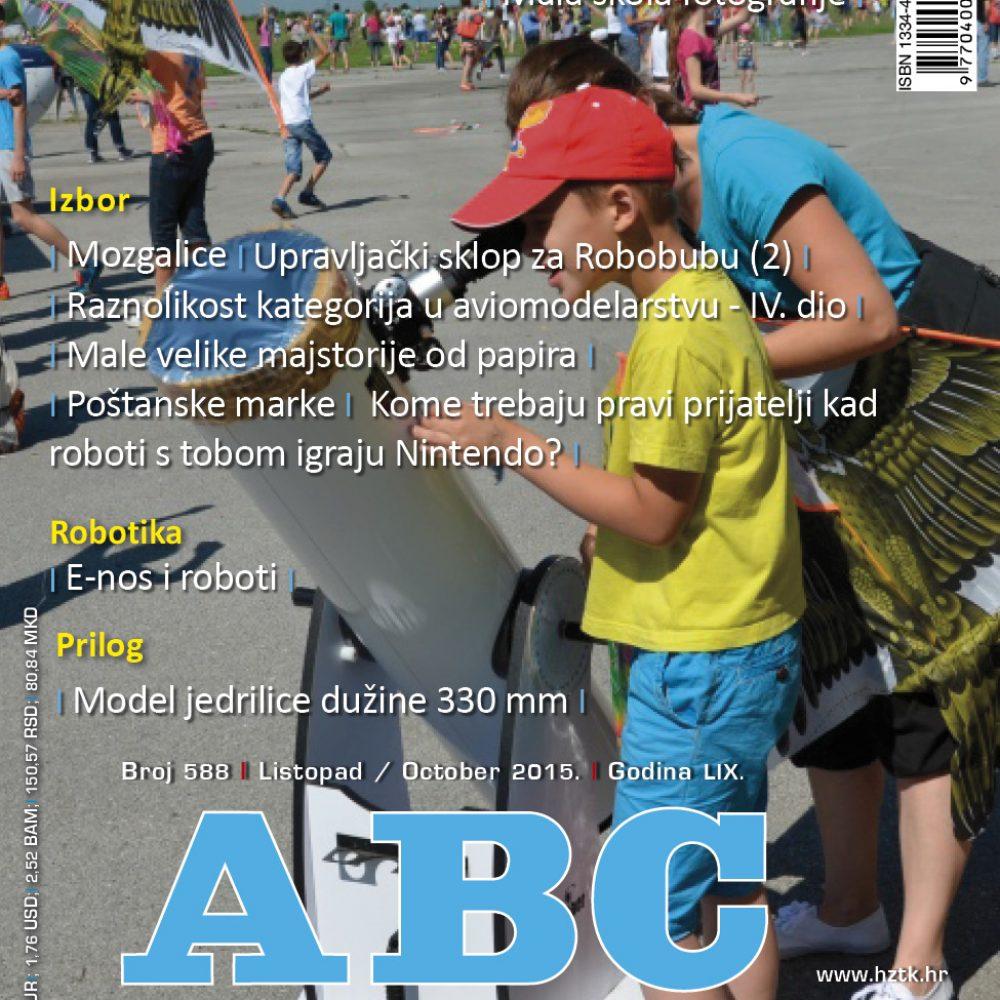 ABC tehnike broj 588 listopad 2015. godine