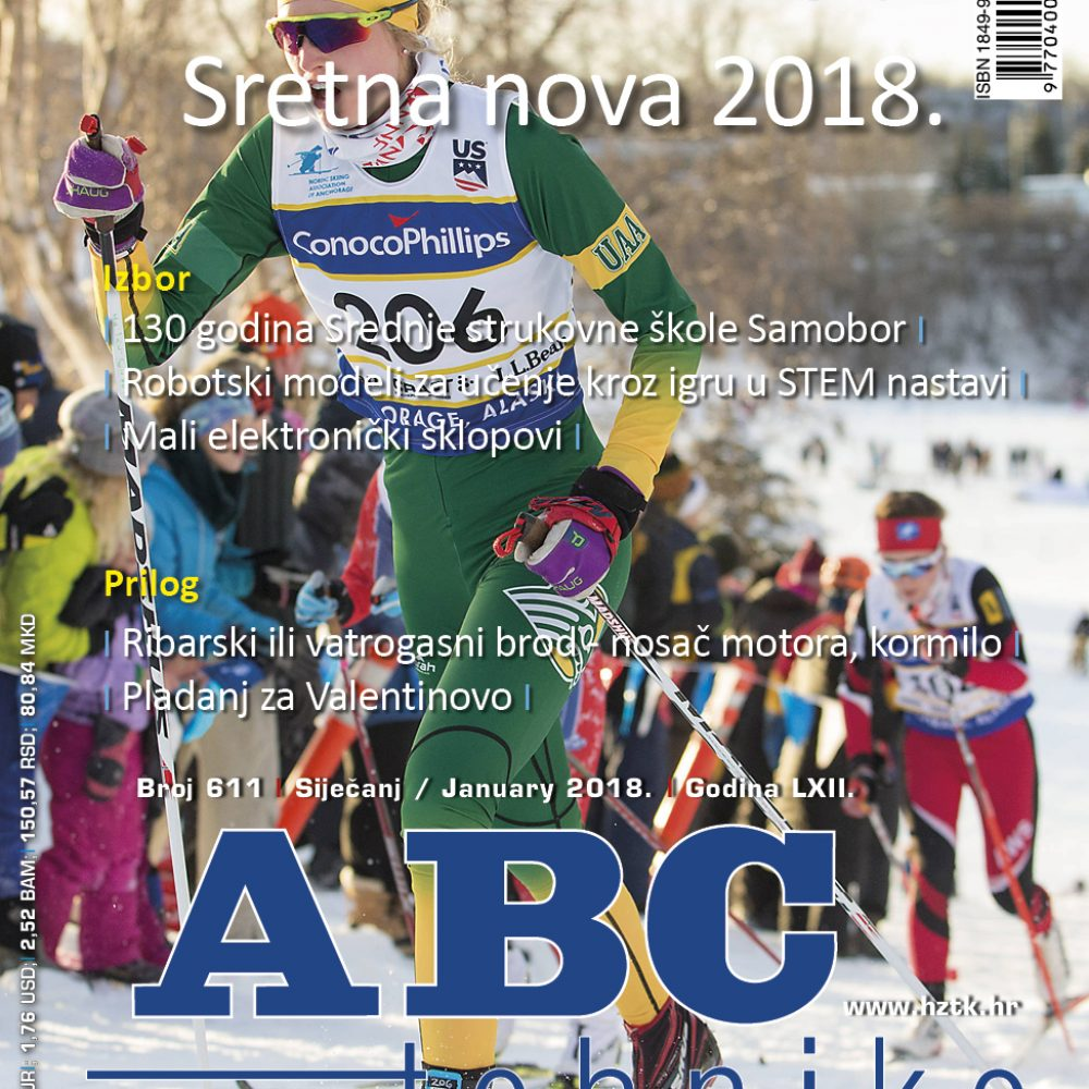 ABC tehnike broj 611, siječanj 2018.godine