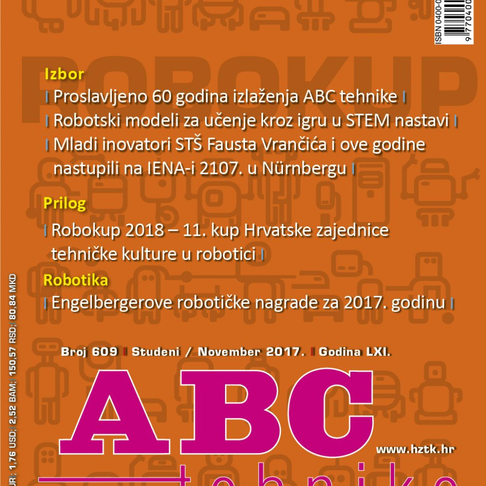 ABC tehnike broj 609, studeni 2017. godine