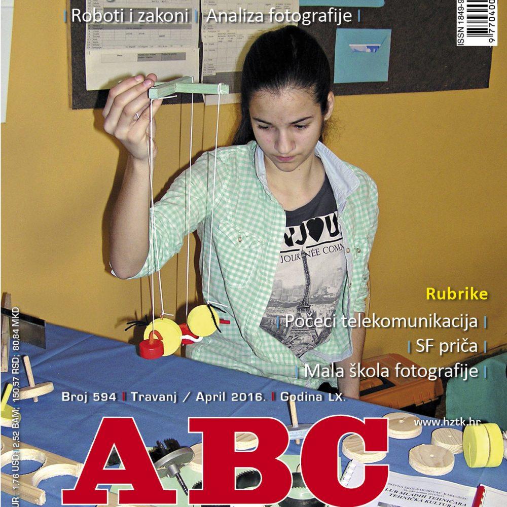 ABC tehnike broj 594, travanj 2016. godine