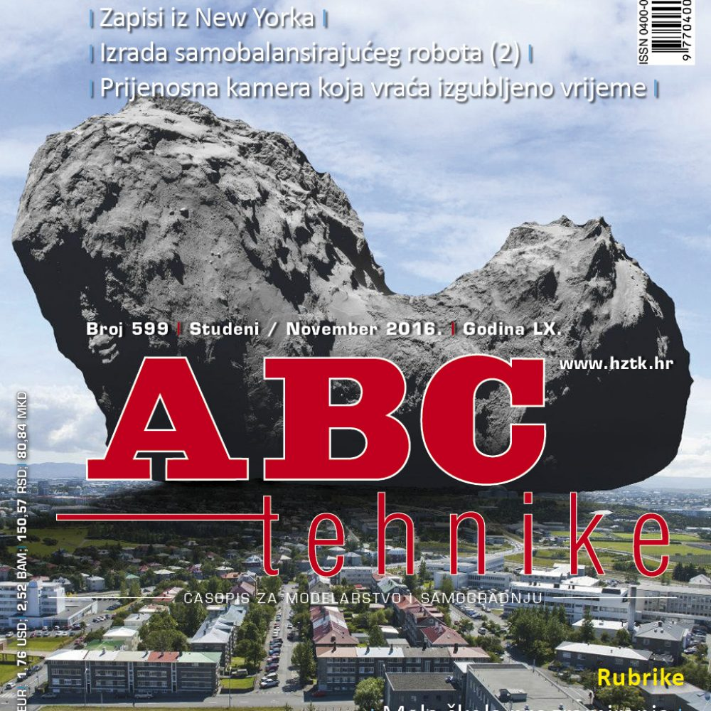 Časopis ABC tehnike broj 599, studeni 2016. godine