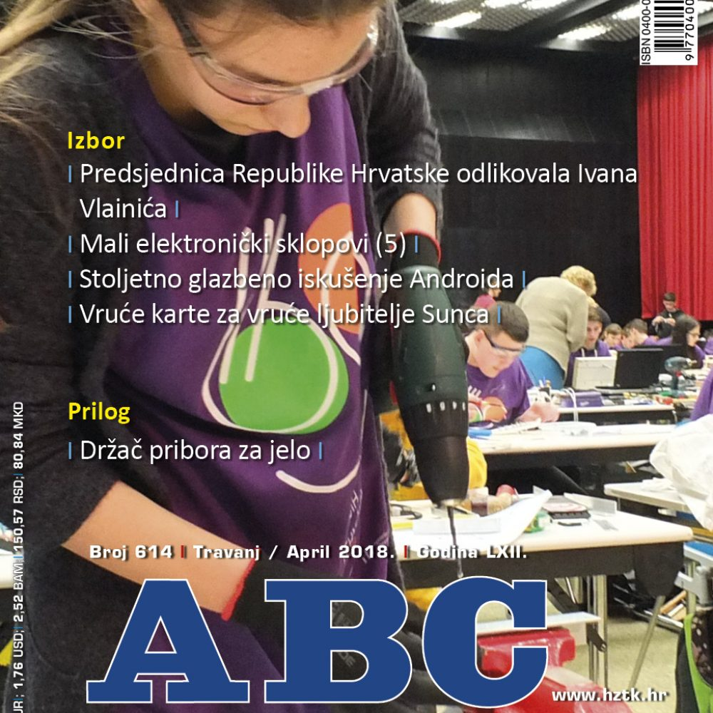 ABC tehnike broj 614, travanj 2018.