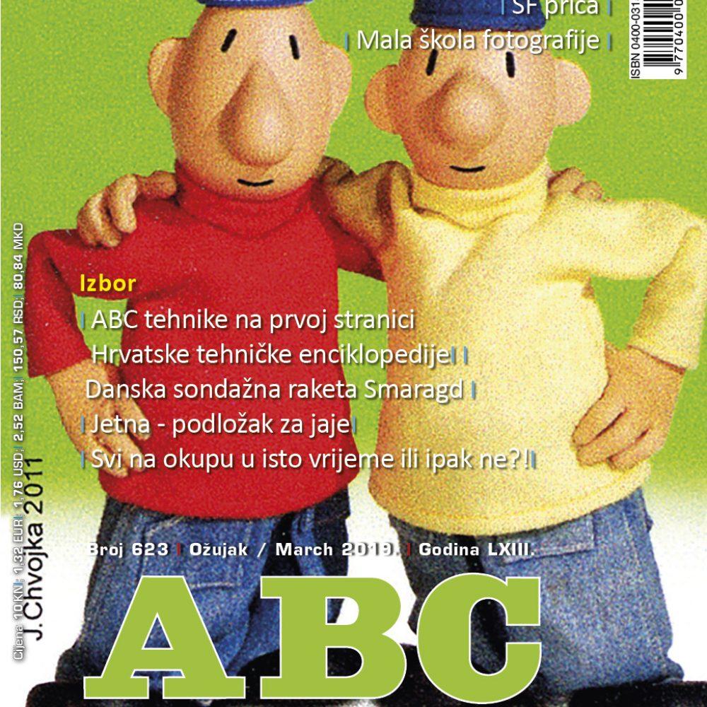 ABC tehnike broj 623 za ožujak 2019. godine