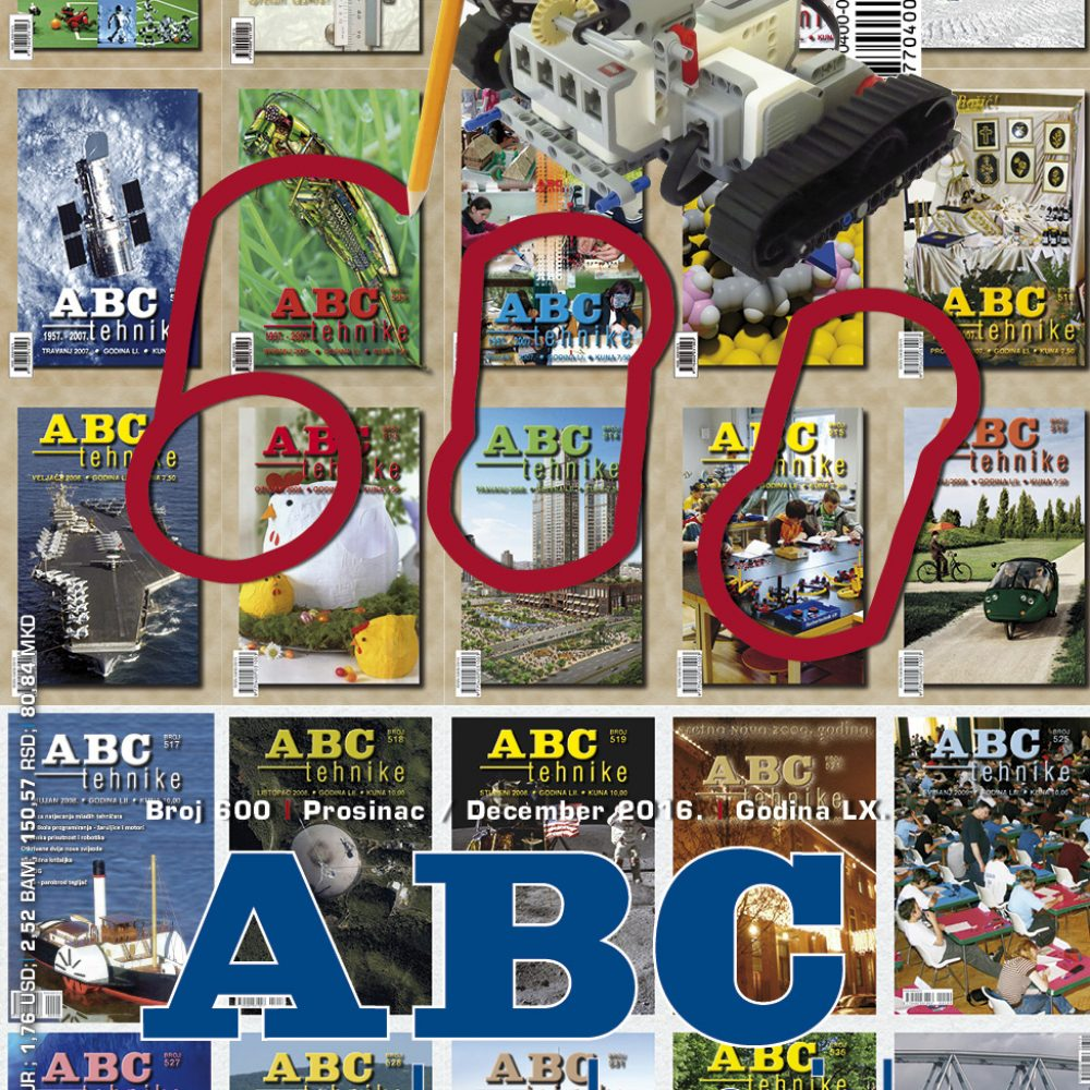ABC tehnike broj 600, prosinac 2016. godine