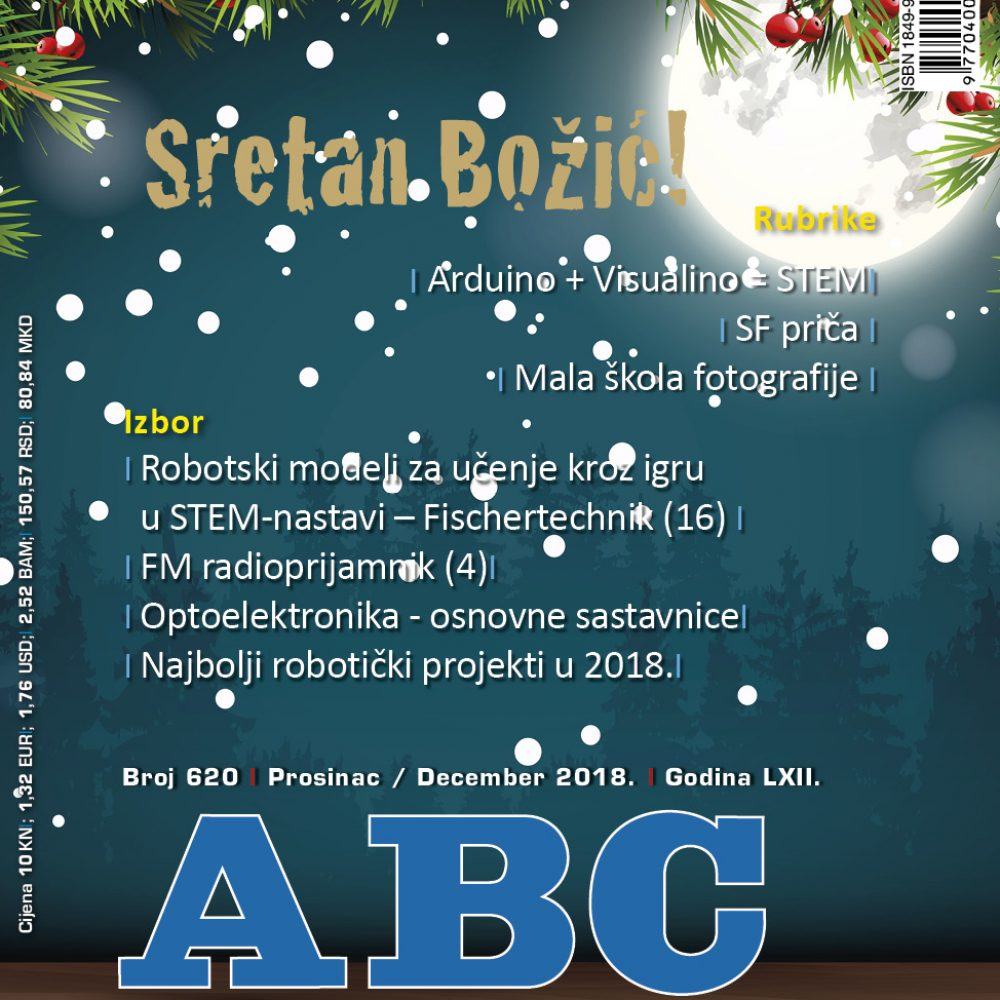 ABC tehnike broj 620 za prosinac 2019. godine