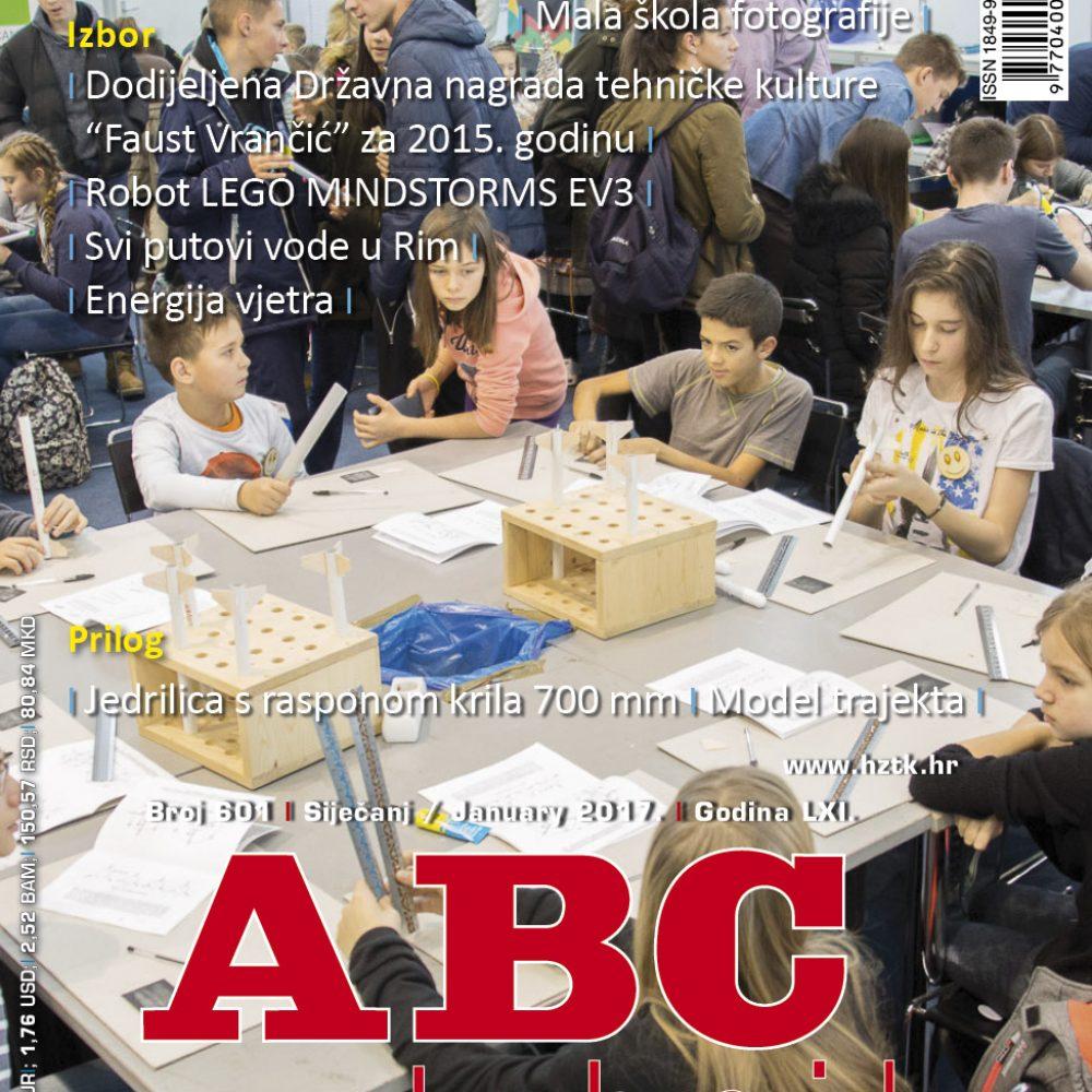 ABC tehnike broj 601, siječanj 2017.